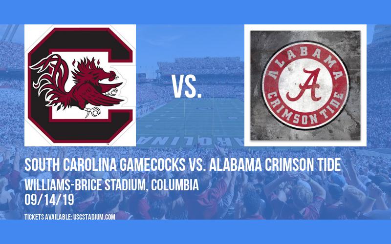 South Carolina Gamecocks vs. Alabama Crimson Tide at Williams-Brice Stadium