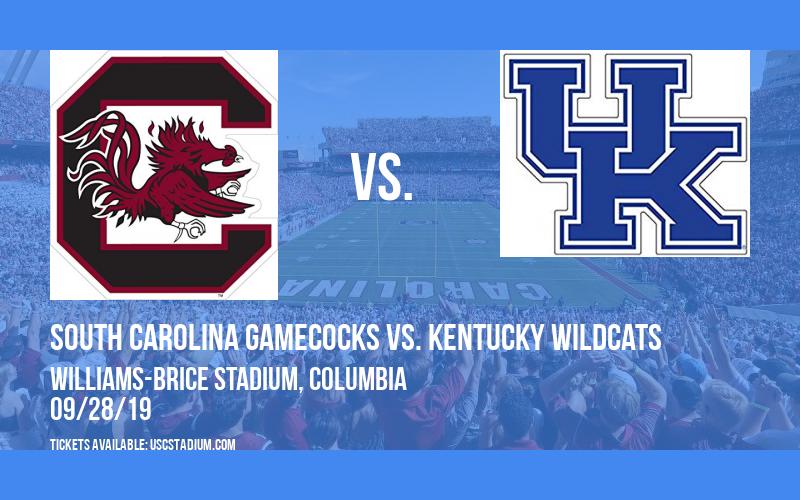 South Carolina Gamecocks vs. Kentucky Wildcats at Williams-Brice Stadium