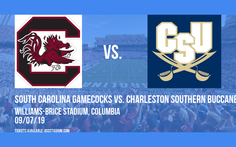 South Carolina Gamecocks vs. Charleston Southern Buccaneers at Williams-Brice Stadium