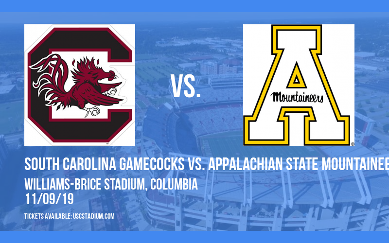 South Carolina Gamecocks vs. Appalachian State Mountaineers at Williams-Brice Stadium