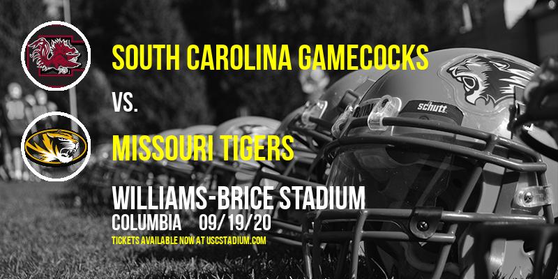 South Carolina Gamecocks vs. Missouri Tigers at Williams-Brice Stadium