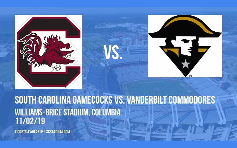 PARKING: South Carolina Gamecocks vs. Vanderbilt Commodores at Williams-Brice Stadium