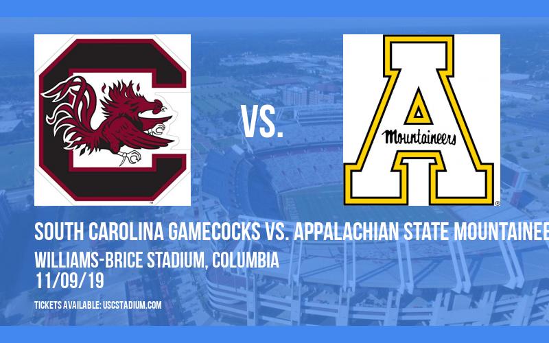 South Carolina Gamecocks vs. Appalachian State Mountaineers at Williams-Brice Stadium