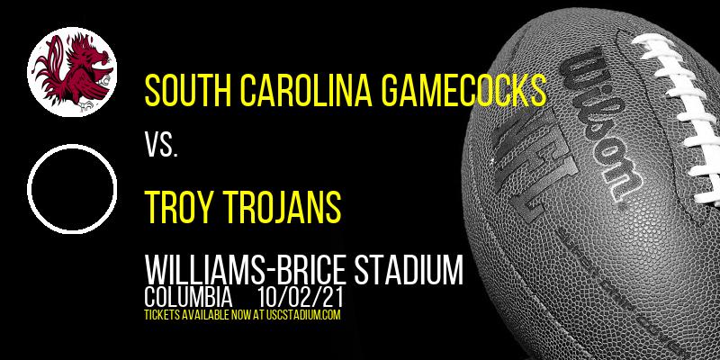 South Carolina Gamecocks vs. Troy Trojans at Williams-Brice Stadium